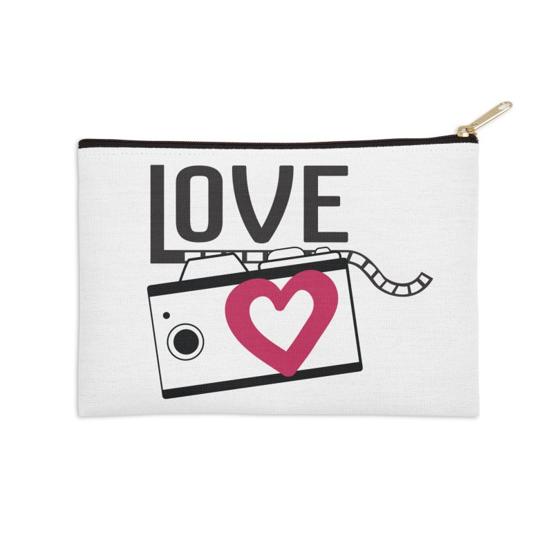love photograph_camera_2 Accessories Zip Pouch by gabifaveri's Artist Shop