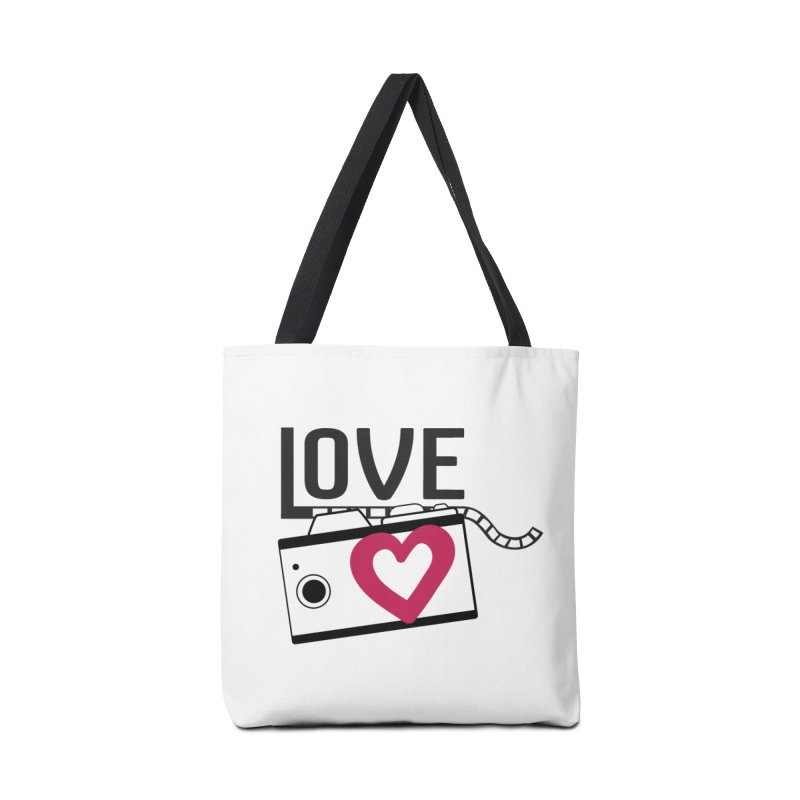 love photograph_camera_2 Accessories Bag by gabifaveri's Artist Shop