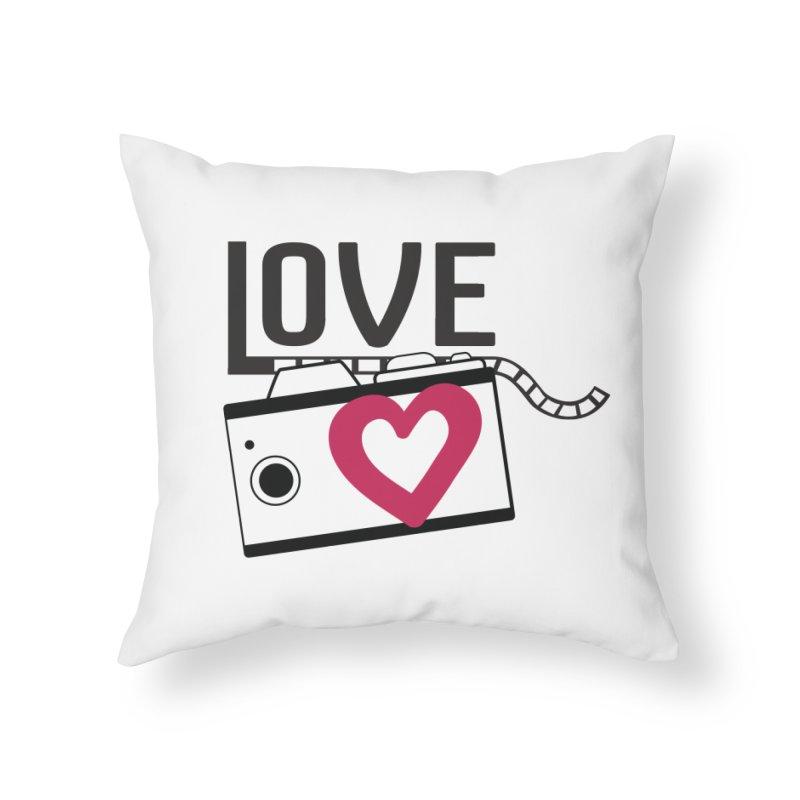 love photograph_camera_2 Home Throw Pillow by gabifaveri's Artist Shop