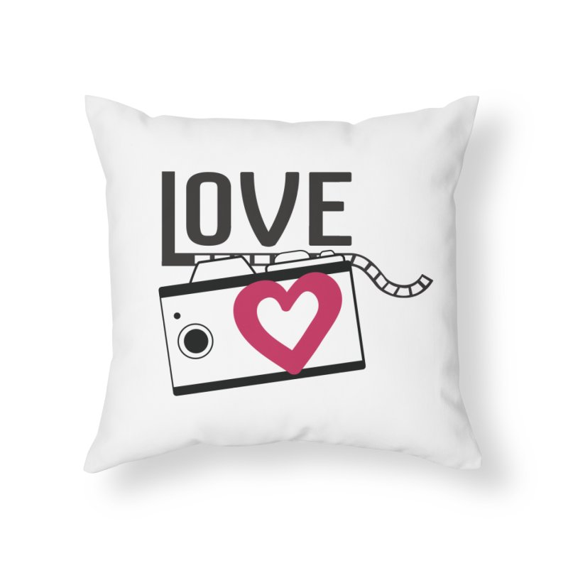 love photograph_camera_2 Home Throw Pillow by gabifaveri's Artist Shop