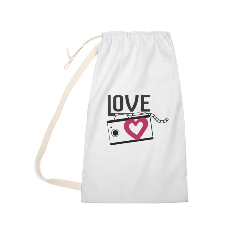 love photograph_camera_2 Accessories Laundry Bag Bag by gabifaveri's Artist Shop