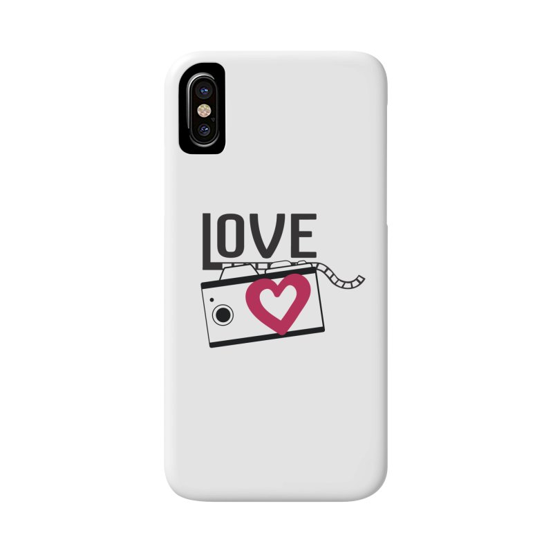 love photograph_camera_2 Accessories Phone Case by gabifaveri's Artist Shop