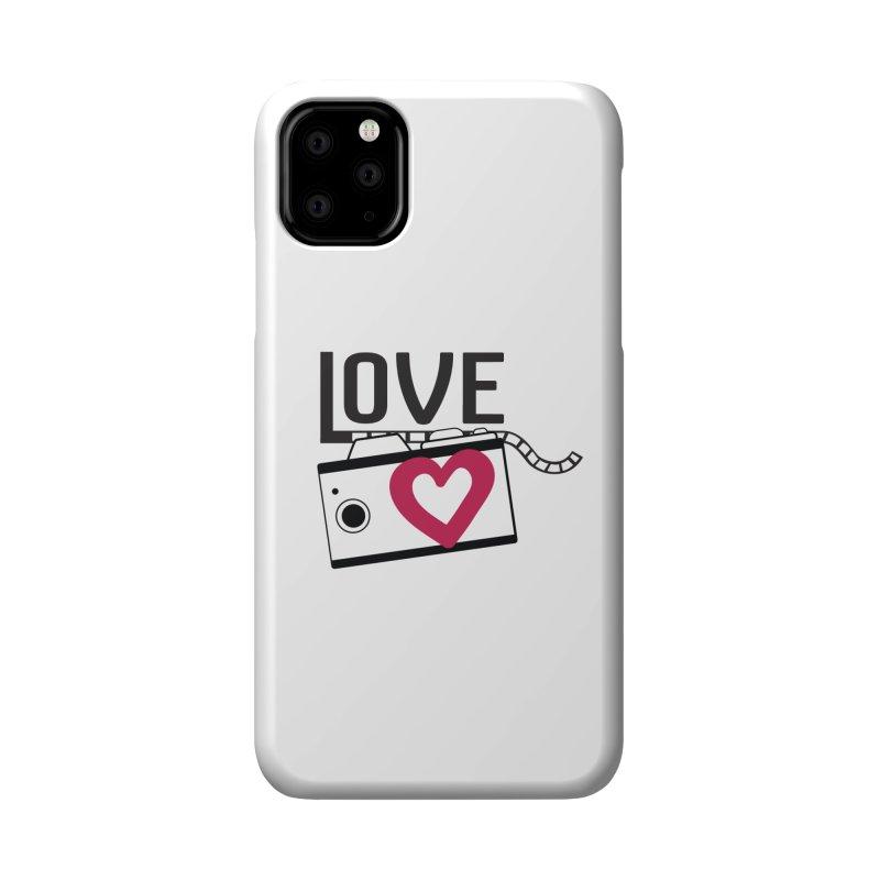 love photograph_camera_2 Accessories Phone Case by gabifaveri's Artist Shop
