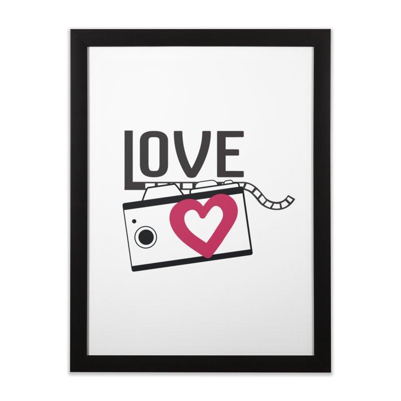 love photograph_camera_2 Home Framed Fine Art Print by gabifaveri's Artist Shop