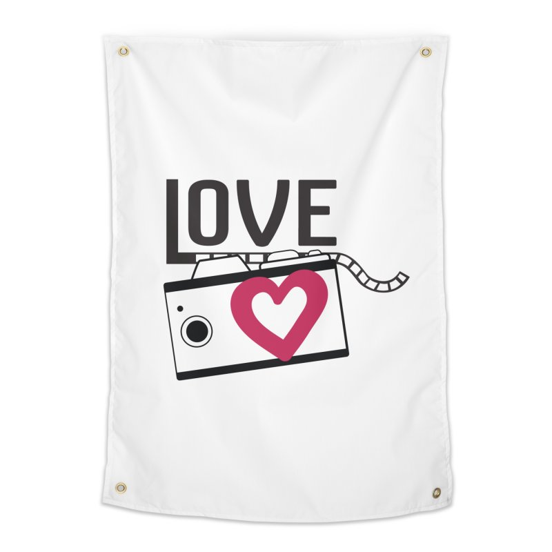 love photograph_camera_2 Home Tapestry by gabifaveri's Artist Shop