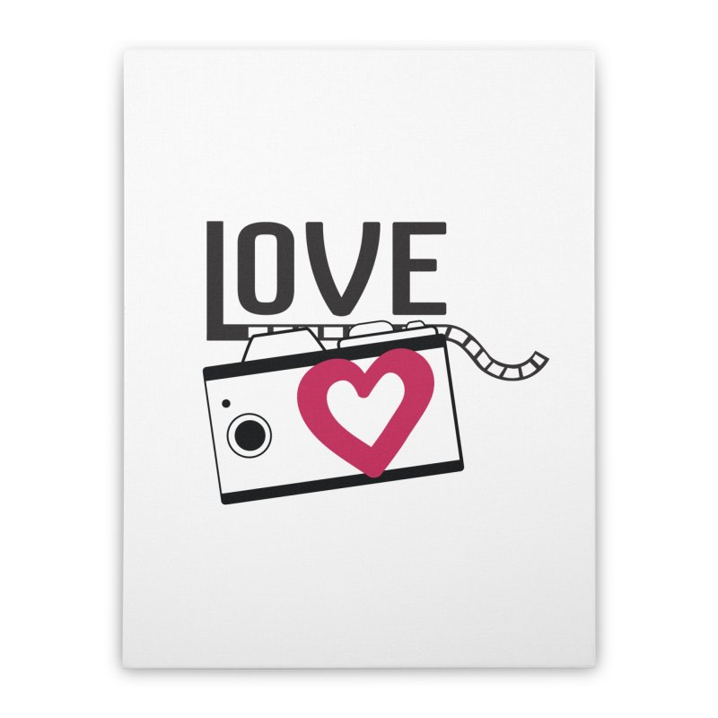love photograph_camera_2 Home Stretched Canvas by gabifaveri's Artist Shop