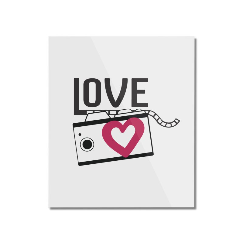 love photograph_camera_2 Home Mounted Acrylic Print by gabifaveri's Artist Shop