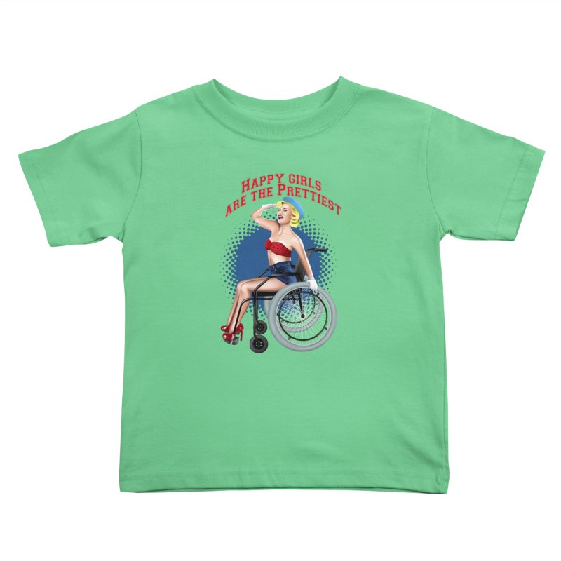 pinup_pretty girl Kids Toddler T-Shirt by gabifaveri's Artist Shop
