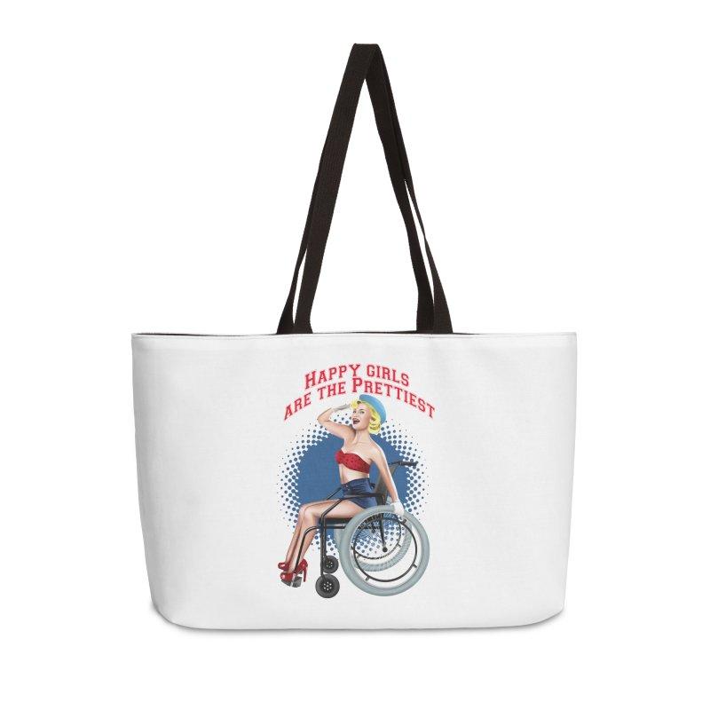 pinup_pretty girl Accessories Weekender Bag Bag by gabifaveri's Artist Shop
