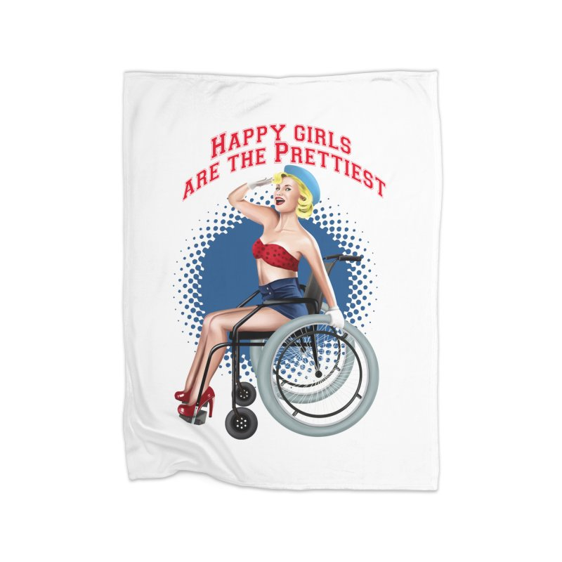pinup_pretty girl Home Blanket by gabifaveri's Artist Shop