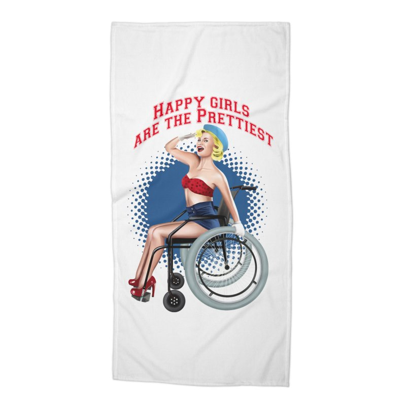 pinup_pretty girl Accessories Beach Towel by gabifaveri's Artist Shop