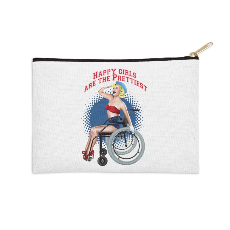 pinup_pretty girl Accessories Zip Pouch by gabifaveri's Artist Shop
