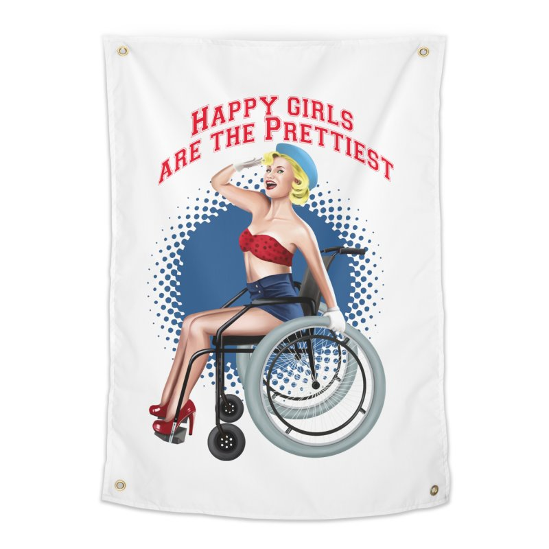 pinup_pretty girl Home Tapestry by gabifaveri's Artist Shop