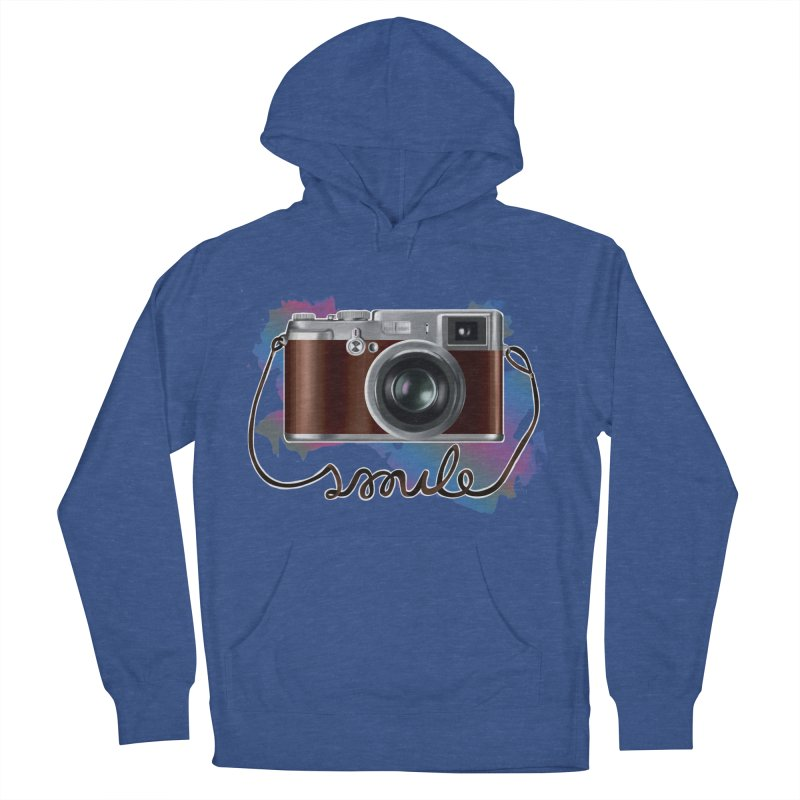 camera_smile Men's French Terry Pullover Hoody by gabifaveri's Artist Shop