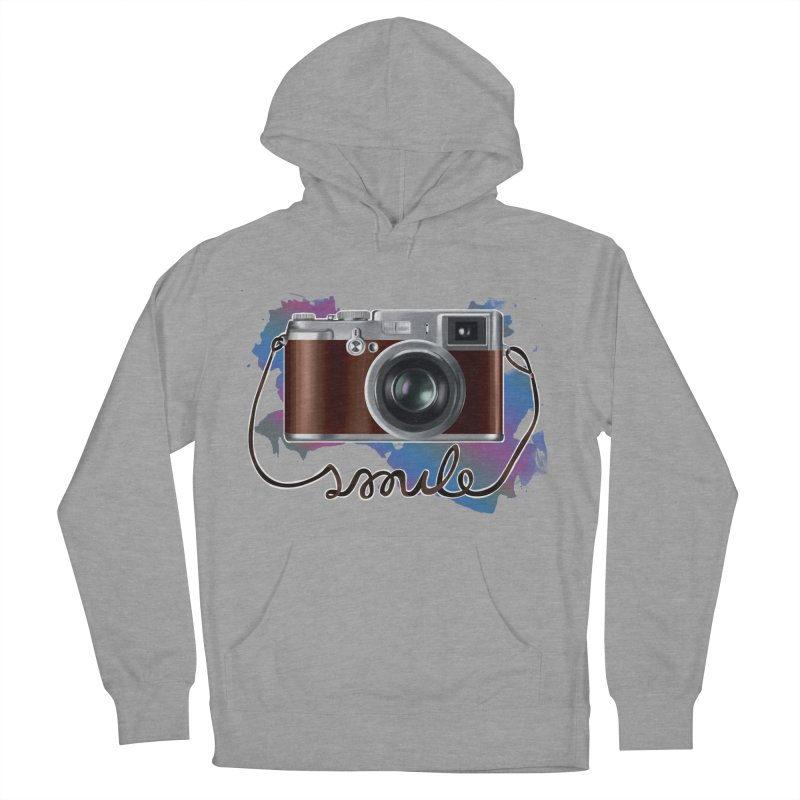 camera_smile Men's Pullover Hoody by gabifaveri's Artist Shop