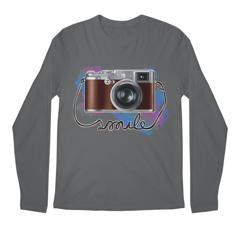 camera_smile Men's Regular Longsleeve T-Shirt by gabifaveri's Artist Shop