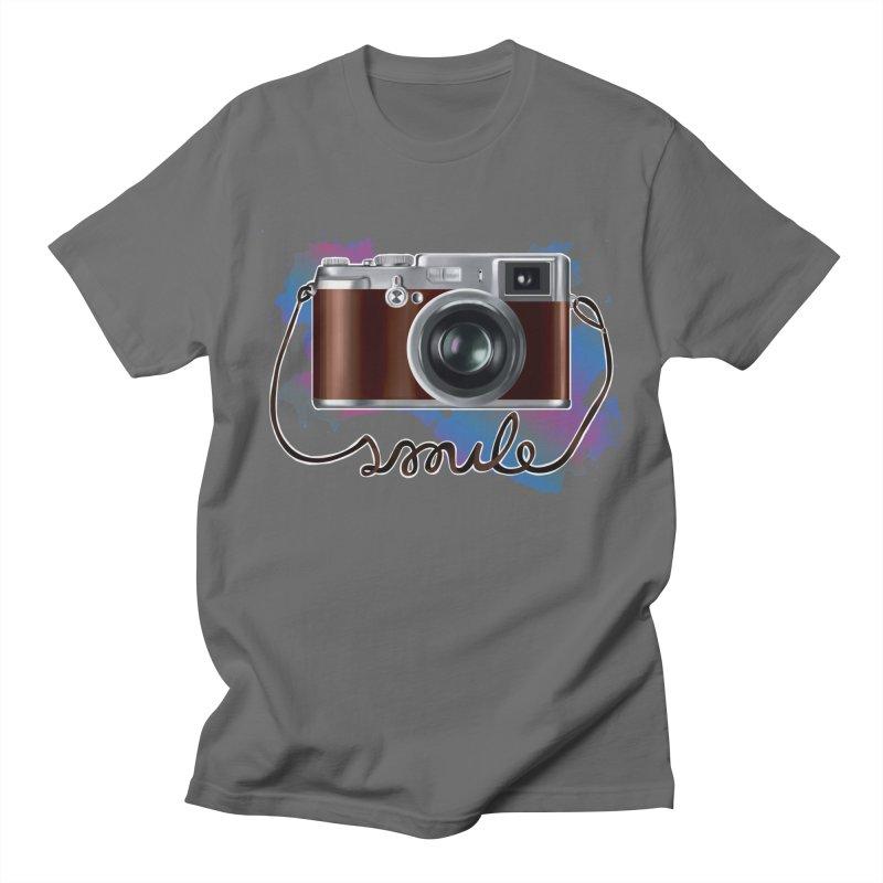 camera_smile Men's  by gabifaveri's Artist Shop