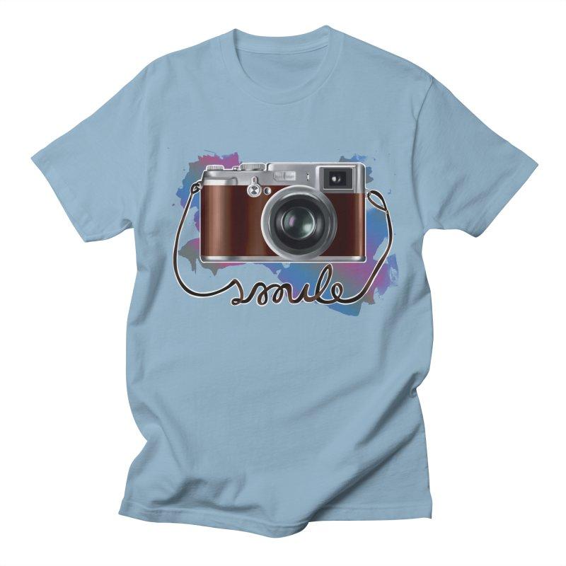 camera_smile Men's Regular T-Shirt by gabifaveri's Artist Shop