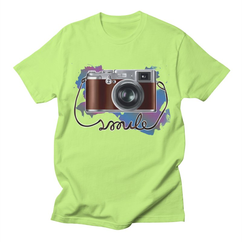 camera_smile Men's Regular T-Shirt by gabifaveri's Artist Shop