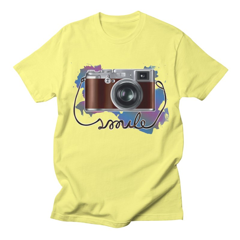 camera_smile Women's Unisex T-Shirt by gabifaveri's Artist Shop
