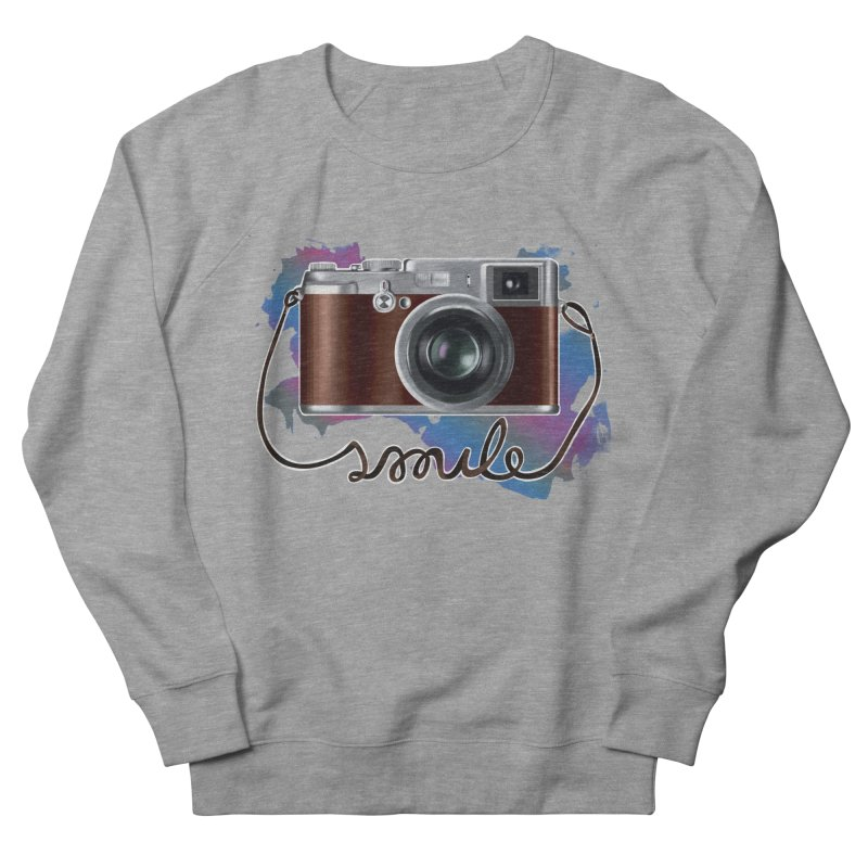 camera_smile Women's French Terry Sweatshirt by gabifaveri's Artist Shop