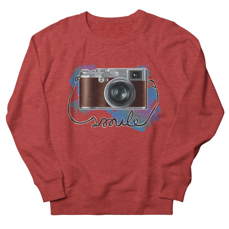 camera_smile Women's French Terry Sweatshirt by gabifaveri's Artist Shop