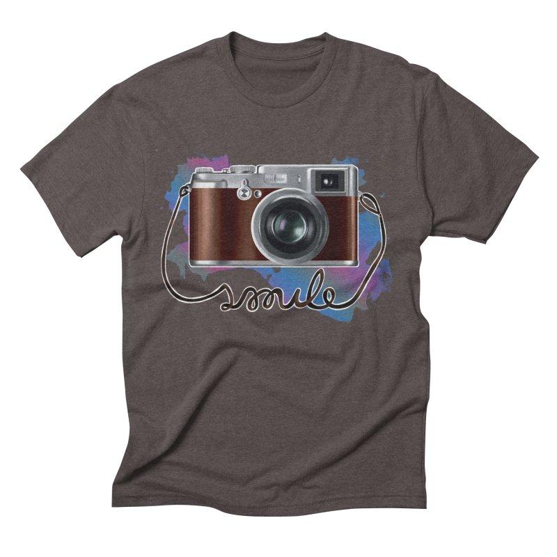 camera_smile Men's Triblend T-Shirt by gabifaveri's Artist Shop