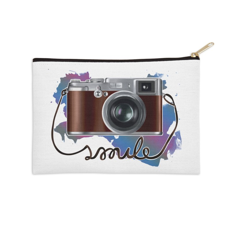 camera_smile Accessories Zip Pouch by gabifaveri's Artist Shop