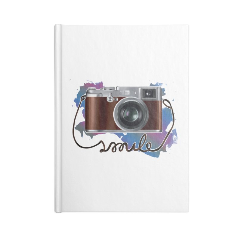 camera_smile Accessories Lined Journal Notebook by gabifaveri's Artist Shop