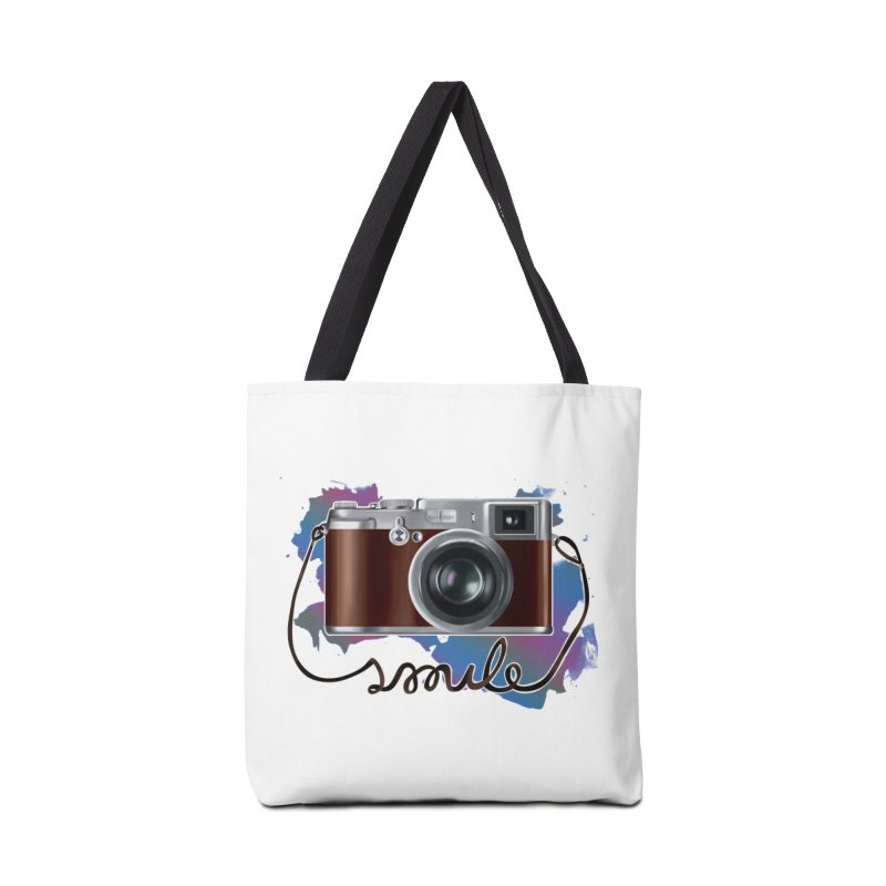 camera_smile Accessories Tote Bag Bag by gabifaveri's Artist Shop