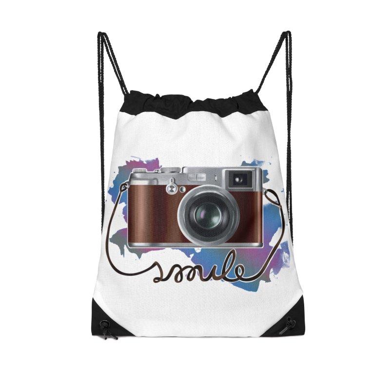 camera_smile Accessories Drawstring Bag Bag by gabifaveri's Artist Shop