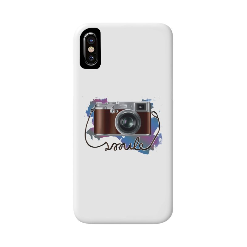 camera_smile Accessories Phone Case by gabifaveri's Artist Shop