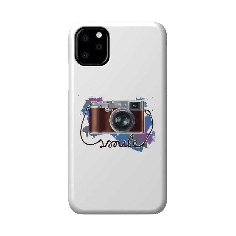 camera_smile Accessories Phone Case by gabifaveri's Artist Shop