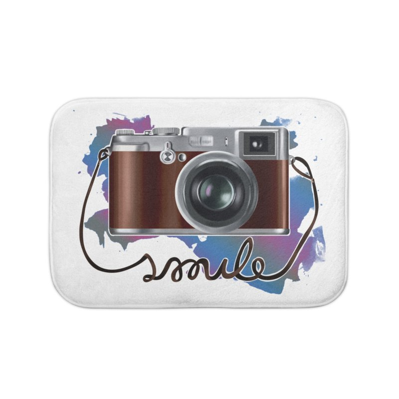 camera_smile Home Bath Mat by gabifaveri's Artist Shop
