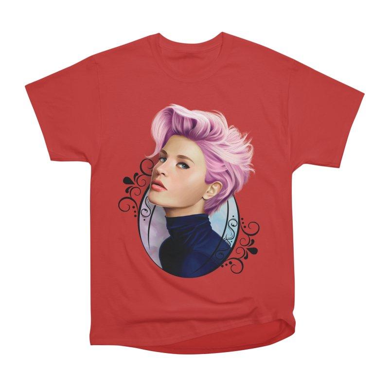 hair pink Men's Heavyweight T-Shirt by gabifaveri's Artist Shop