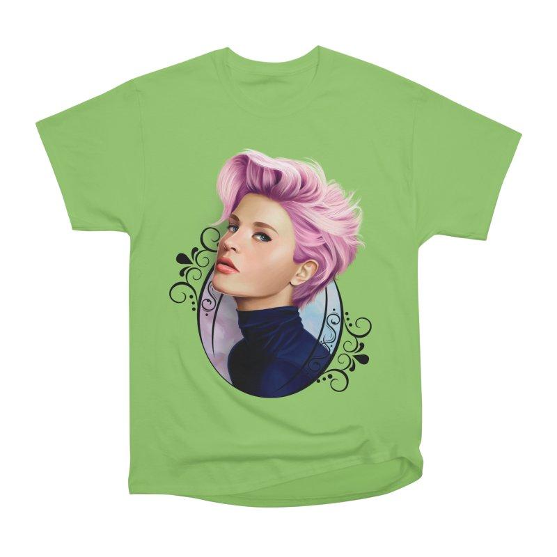 hair pink Women's Heavyweight Unisex T-Shirt by gabifaveri's Artist Shop