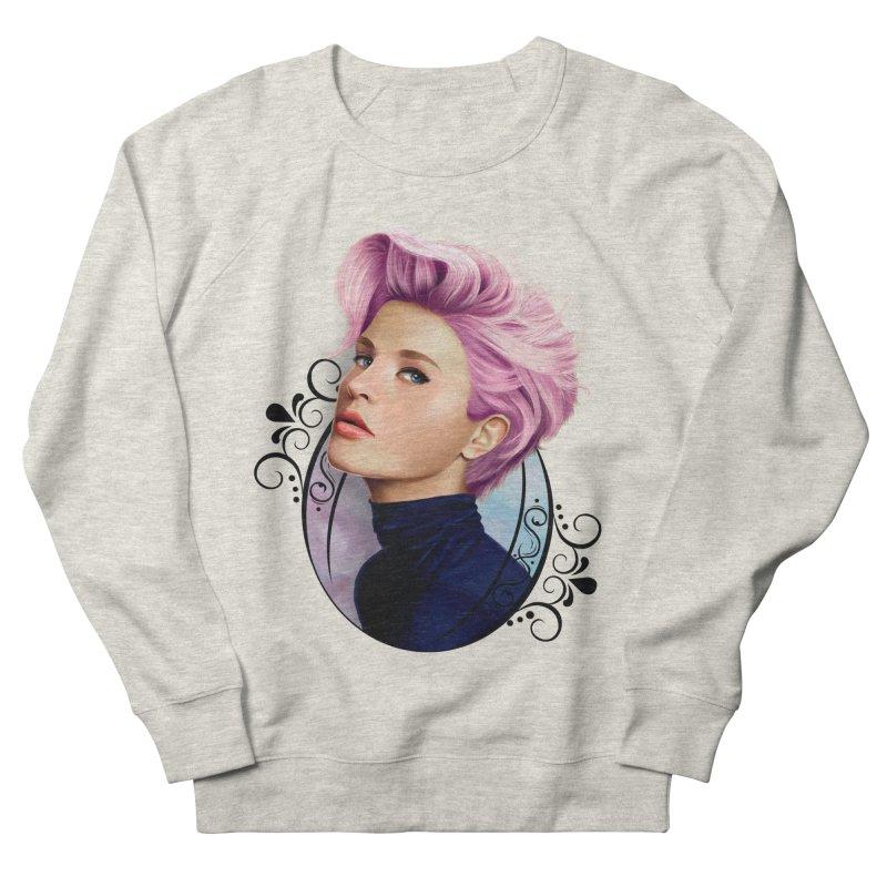 hair pink Women's French Terry Sweatshirt by gabifaveri's Artist Shop