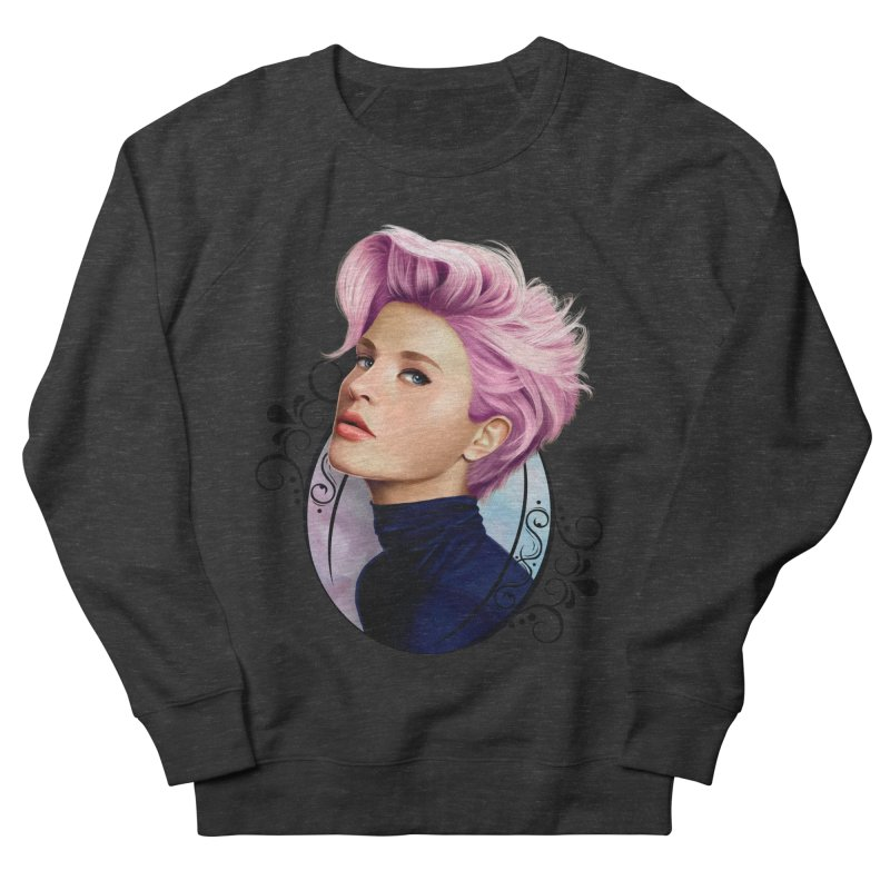 hair pink Men's French Terry Sweatshirt by gabifaveri's Artist Shop