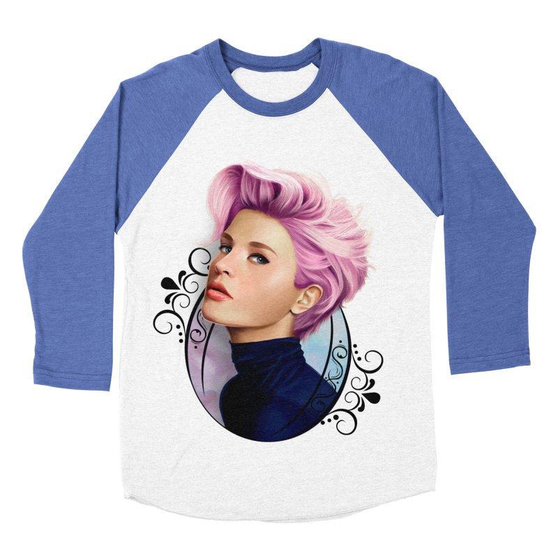 hair pink Men's Baseball Triblend Longsleeve T-Shirt by gabifaveri's Artist Shop