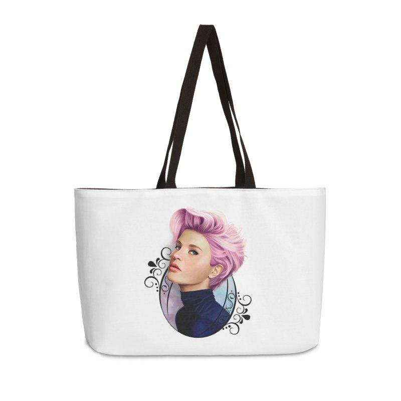 hair pink Accessories Weekender Bag Bag by gabifaveri's Artist Shop