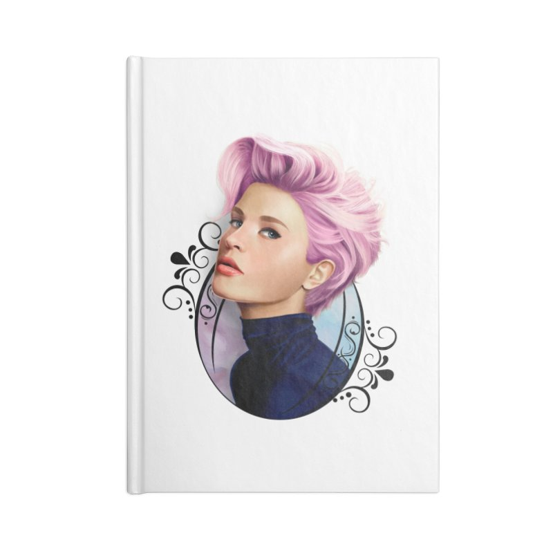 hair pink Accessories Blank Journal Notebook by gabifaveri's Artist Shop
