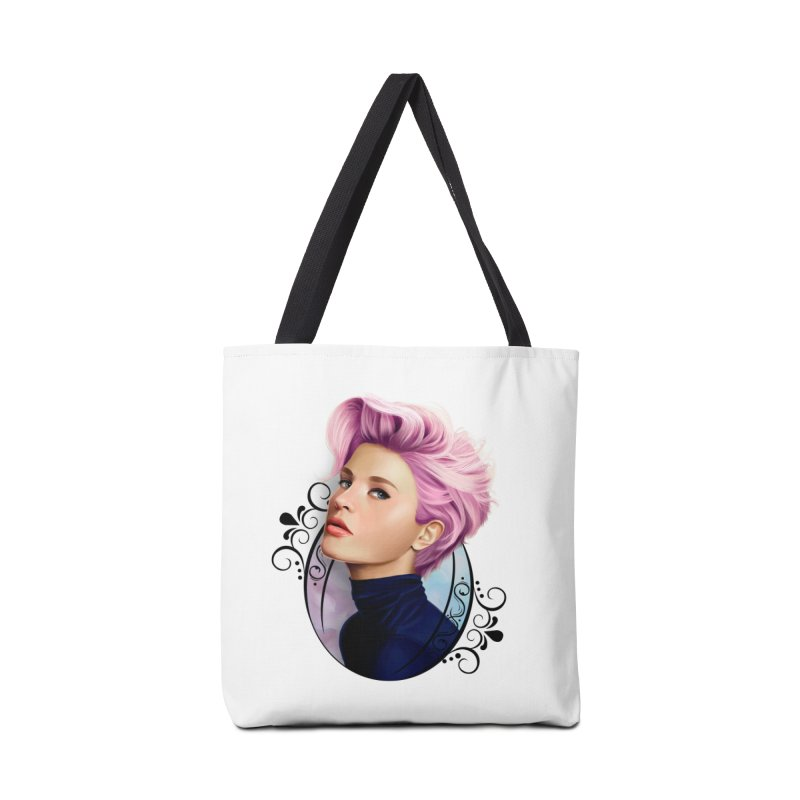 hair pink Accessories Tote Bag Bag by gabifaveri's Artist Shop