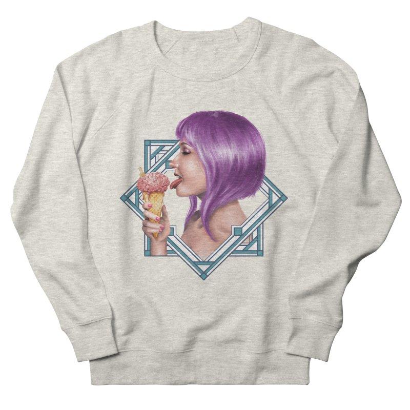 Ice Brain Men's French Terry Sweatshirt by gabifaveri's Artist Shop