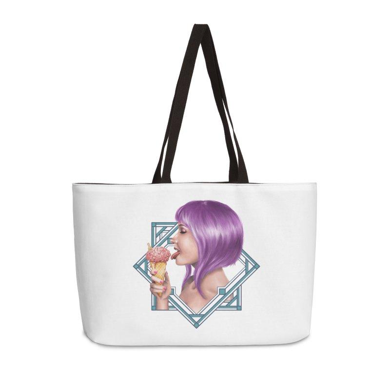Ice Brain Accessories Weekender Bag Bag by gabifaveri's Artist Shop