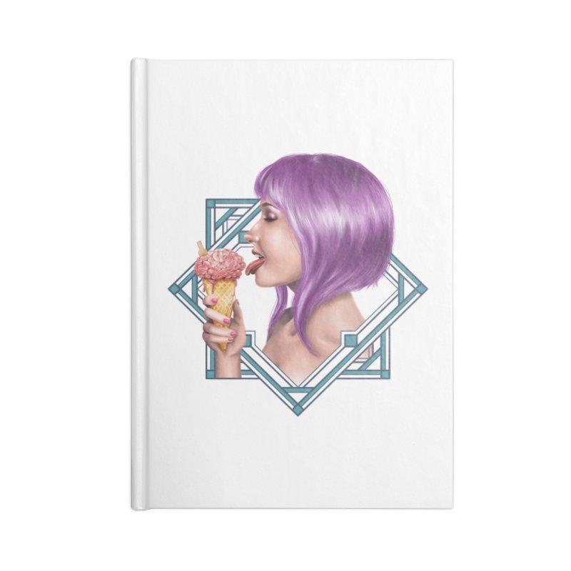 Ice Brain Accessories Notebook by gabifaveri's Artist Shop