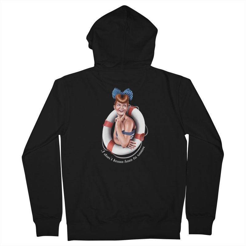 pinup naval Men's Zip-Up Hoody by gabifaveri's Artist Shop