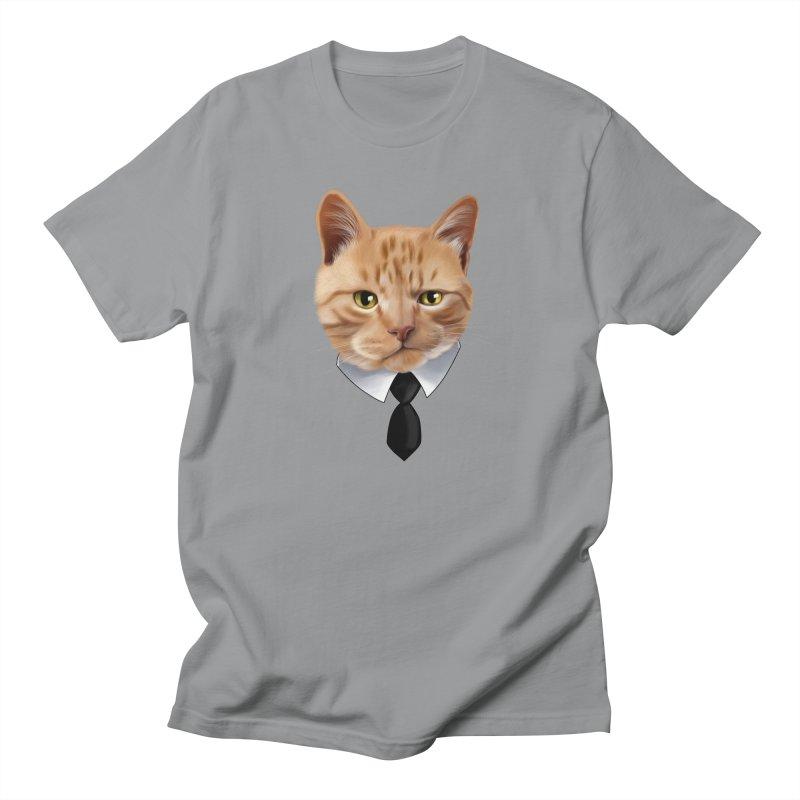 business cat Men's Regular T-Shirt by gabifaveri's Artist Shop