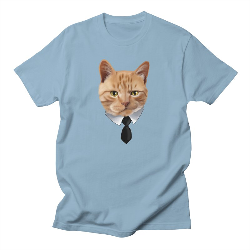 business cat Men's Regular T-Shirt by gabifaveri's Artist Shop