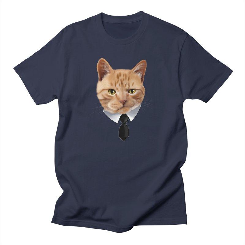 business cat Men's  by gabifaveri's Artist Shop