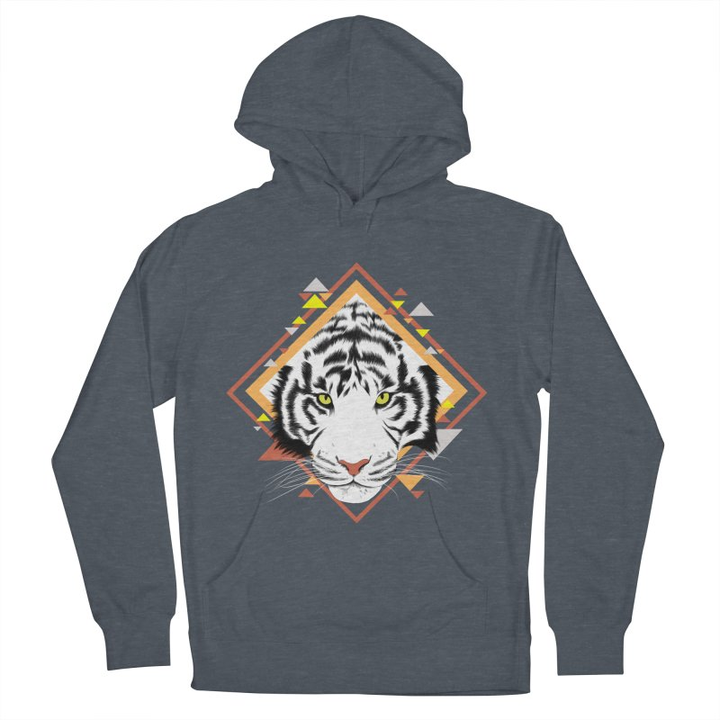 Tiger_Geometric Men's Pullover Hoody by gabifaveri's Artist Shop